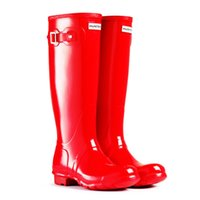 army canvas tent - HUNTER ORIGINAL TALL WELLINGTON RAIN BOOTS GLOSS TENT RED NEW AUTHENTIC