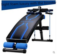 Wholesale The eight version of the standard foam on board UPS fitness equipment household machine multifunction body building chair abdomen abdominal