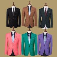 Wholesale Hot Sale New Brand Design Mens Brand Blazer Jacket Coats Slim Fit Stylish Blazers For Men Business Casual blazer men suit jacket