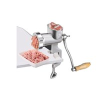 Wholesale New Style ss304 food standard meat mincer Stainless steel household manual meat slicer Meat grinder for kitchen filling sauage