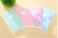 anniversary card messages - 2016 South Korea stationery creative wings love greeting cards message new year Christmas Greeting Card Valentine s Day custom