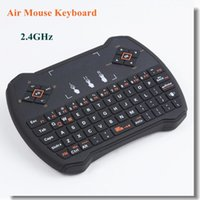 Wholesale Genuine i8V Robocop GHz Wireless Gaming Mini Keyboard Fly Air Mouse For Smart TV Android TV Box IPTV Laptop PC XBox PS3 i8 T95M Z4 QBOX