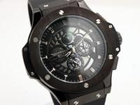 aero mechanical - luxury brand watches men aero bang watch black sports watch automatic movement watch mens dress watches HB56
