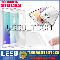 apple jellies - 0 mm TPU Crystal Gel Ultra Thin transparent Soft TPU slim Case for Iphone PLUS s plus galaxy S7 S7edge note jelly clear Cases silicon