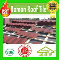 aluminum metal roofing - good quality aluminum zinc sand chips coated metal roofing tiles