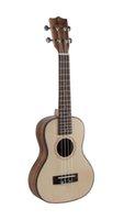 Wholesale 23 inch spruce ukuleleSolid SpruceBACK SIDESAcacia
