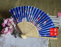 bamboo discount - 2016 High Quality Discount Fan favors good gift idea for wedding bamboo hand fans