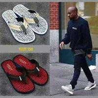 canvas slippers - 2016 HOT HOT summer cool sandals YZY yeezy slipper flip flops outdoor Beach slipper Tip toe
