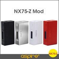 battery lock box - Aspire NX75 Z mod TC mod nx75 box mod Mechanical zinc alloy child lock W battery vapor for atlantis EVO tank