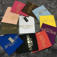 Wholesale Balmain Women s Tank Top Camis Sleveeless Vest T Shirts Gold Plated buckle O neck Female Women tshirts Famous Brand Designer
