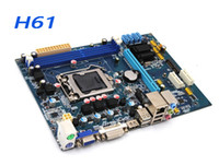 Wholesale H61 Motherboard with LGA1155 Socket and Support DDR3 DRAM H61 Motherboard LGA1155 Socket DDR3 DRAM