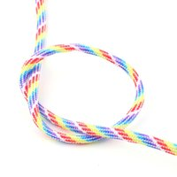 Wholesale set of Rainbow Color Popular Type III Strand Parachute Paracord Cord Lanyard Mil Spec Core FT