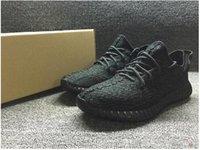art footwear - Fashion Brand Mens Boost Pirate Black Running Shoes Footwear Sneakers Kanye West Boost milan Sport Sneakers