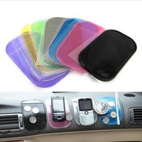 Wholesale 1PCS color Automobiles Interior Accessories for Mobile Phone mp3mp4 Pad GPS Anti Slip Car Sticky Anti Slip Mat Work as Charm
