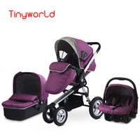Wholesale Fashion Highview Folding in Stroller for months Kids Pushchair Sleeping Basket Safety Car Seat Two way Available