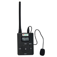 Wholesale Portable W FM Transmitter Stereo Radio Broadcast Adjustable Frequency MHz Y4189H