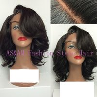 auburn products - 8A Brazilian Virgin Hair natural black U Part Wig Body Wave full lace wig lace front Products For Black White Women Lace Wig