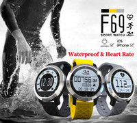 apple professionals - New item F69 Waterproof Smart Watch Professional IP68 Swimming Mode Intelligent Healthy Heart Rate Bracelet for IOS Android Phone