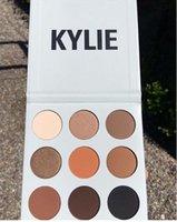 Wholesale Kylie Jenner Kyshadow eyeshadow Pressed Powder Bronze Kit Eye shadow Palette Bronze Preorder Natural Brighten Makeup make up Colors