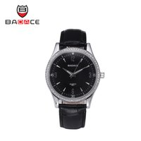 best belts style - New Fashion Silver Color Men Luxury Style Badace Brand Glass Pointer Surface Leather Belt Best Quartz Watches