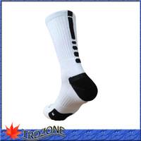 Wholesale New athletic summer style Men socks elite socks men long running sock terry basketball socks prince men sport piece pair