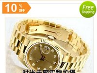 Wholesale Cheap Stainless Gold Watch - 2016 free gold good man with brand new drop shipping Mechanical cheap High quality Automatic master men watch luxury sports Men's Watches