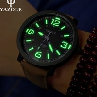 beautiful commercials - Luxury fashion beautiful high force commercial watches attractive young brand watches YAZOLE Mens Watch luminous dial