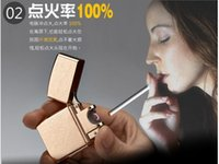 arc china - CHINA Classic Features Pulsed Arc lighter USB charging Windproof Lighters electronic cigarette lighter Men Gifts Lighters