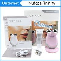 Wholesale Nuface Trinity facial Trinity kit Small Package Nuface Trinity Pro Facial Toning Device Kit face massager New packing