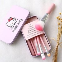 Wholesale hello Kitty makeup brush makeup tool kit beginner portable loose paint