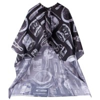 art hairdressing - Black Pro Salon Hairdressing Hairdresser Hair Cutting Gown Barber Cape Cloth BP cape sleeve cloth art