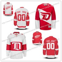bats order - NEW Customized Detroit Red Wings Men Women Kids High quality Retro Hockey Jerseys Custom Name Number jersey Mixed order
