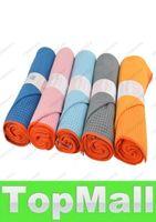 Wholesale LAI Yogitoes Skidless Yoga Mat Towel Silicon Nubs Brand New Non Slip Towel Any Colors Fash Ship Gram