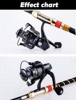 Wholesale SZ BB Metal No gap Spinning Fishing Reel Bass Carp Sea Fishing Wheel Bearing Left Right Handle