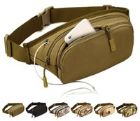 apple messenger bags - Fashion Men Waist Pack for iPhone Samsung Galaxy HTC LG Waterproof Sport Canvas Messenger Bags for Running Outdoor Travel