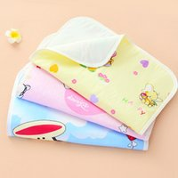 Wholesale Factory Direct Cartoon Printed Waterproof Washable Layer Baby Changing Pads Covers