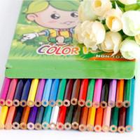 Wholesale 18 color Secret Garden Special Colored Drawing Pencils Wooden Coloring Books Baby Children Painting Pens Graffiti Art Pencil ZJ P01