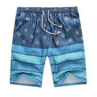 Wholesale Men s shorts color stitching summer new leisure wild men loose beach shorts L XL