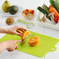 Wholesale Kitchen Chopping block Different Use Flexible Plastic Cutting Board Antibiotic Resistant Portable Chopping Board AY871749