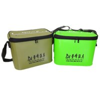 Wholesale Fishing Fishing Bags Durable Foldable Fishing Tackle Box Portable Rectangle Fish Bucket Tackle Outdoor Carp Fishing Accessories