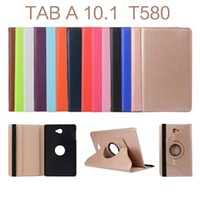 Wholesale For Samsung Galaxy Tab A inch T580 T585 Case Degrees Rotating Stand Cover Cases
