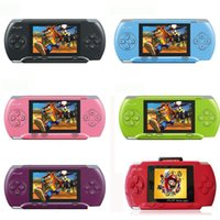Wholesale 10pcs PVP Pocket PVP Station bit Video Games player handheld game console with Free Game card