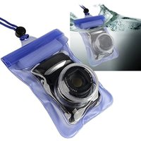 Wholesale SLR Camera Waterproof Underwater Housing Case Pouch Dry Bag For Canon Nikon F00296