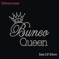 Wholesale Hot Selling Princess Queen Hotfix Motif Iron on the Transfer Hotfix Rhinestone