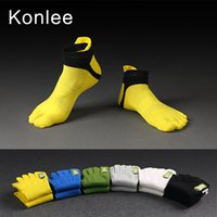 designer socks - New Hot Sale Designer Men Sport Mesh Thin Section of Toe Socks Five Fingers Cotton Sock