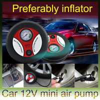Wholesale 260 PSI DC12V Mini Tyre Tire Air Inflator Air Compressor Portable Electric Car Auto Air Pump