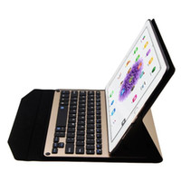 apple ipad leather case keyboard - Ultra thin Aluminum Bluetooth Keyboard Portfolio Case for Apple Ipad Pro inch tablet Laptop Style Keyboard Case