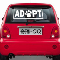 auto interior design - Creative Design Words Car Stickers Vinyl Decals Paw Print Removable Auto Interior