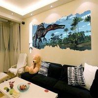 Wholesale 90 cm newest D cartoon movie Dinosaur home decal wall sticker for kids room decoration removable stickers for boys room