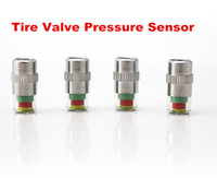 Wholesale 4PCS SET Universal Bar Air Warning Alert Tire Valve Pressure Sensor Monitor Light Cap Indicator Diagnostic Accessory For Cars